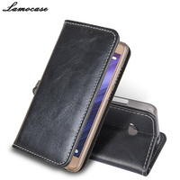 Luxury Flip Genuine Leather Case For Nokia 640 PU Leather Wallet Stand Cover For Microsoft Lumia