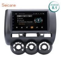 Seicane For 2002 2003 2008 HONDA Jazz(Manual AC,RHD) Car Multimedia player 2DIN Android 8.1 Wifi GPS Navigation radio stereo