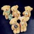 AGOOD 2 pçs/lote alta qualidade marca de moda urso de peluche bonito elástico de cabelo corda cabelo para as mulheres crianças crianças jóias accessoreis