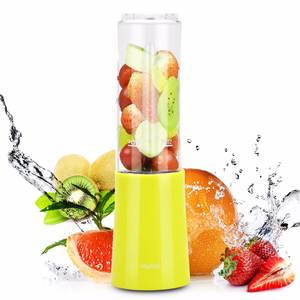 MLITER Mini Portable Mixer Smoothies Hand Blender Juicer