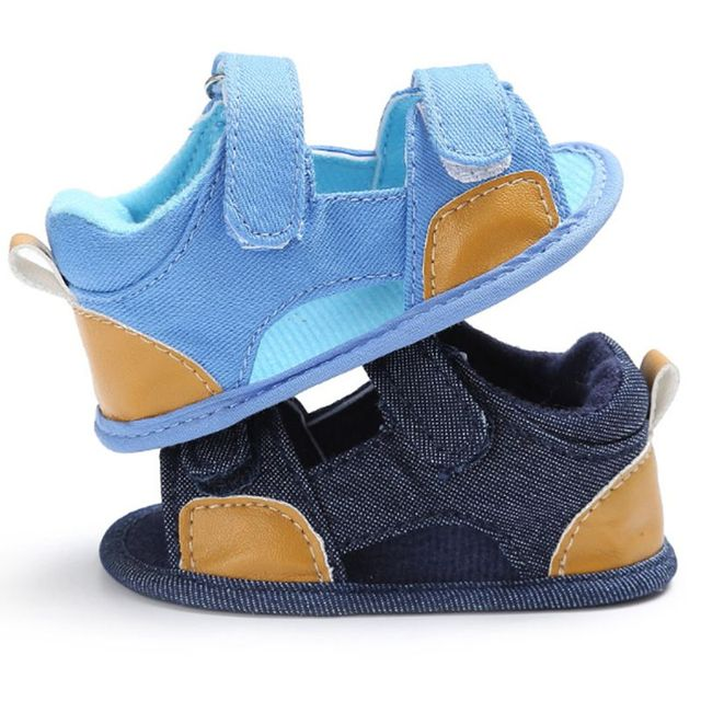 7309154e948c Fashion Blue Baby Boy Shoes Toddler Prince Bebe Cool Footwear Infant Pre-walker  Sneakers First