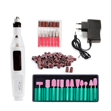 Nail Drill Bits Apparatus Machine for Manicure 12pcs Grinders Milling Cutters 100pcs Sanding Set Electric Nail Art Drill Machine 35 hole 360 degree rotation nail art grinding drill bits storage box rack electric manicure machine sanding heads container