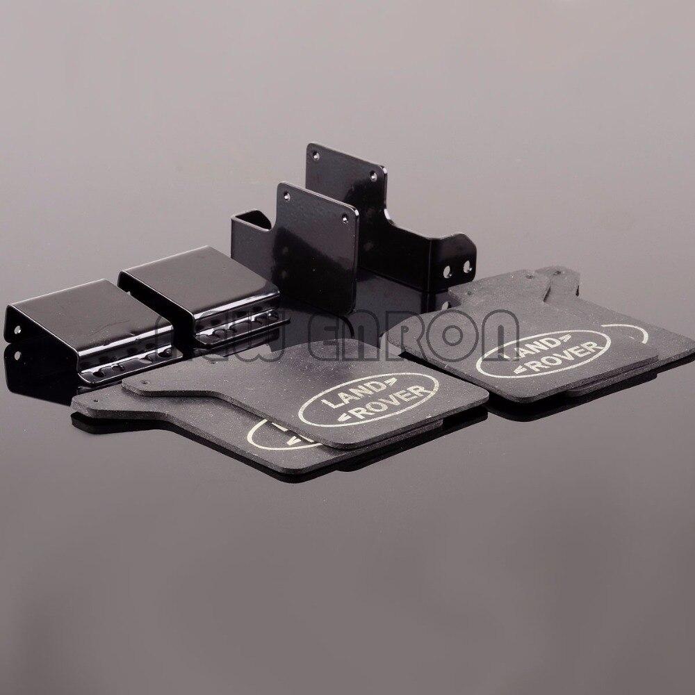 Nueva ENRON 1:10 caucho cuartos F & R Fender Mud Flaps TRX4RM (FF-FR) para 1/10 RC Crawler Traxxas TRX-4 D110