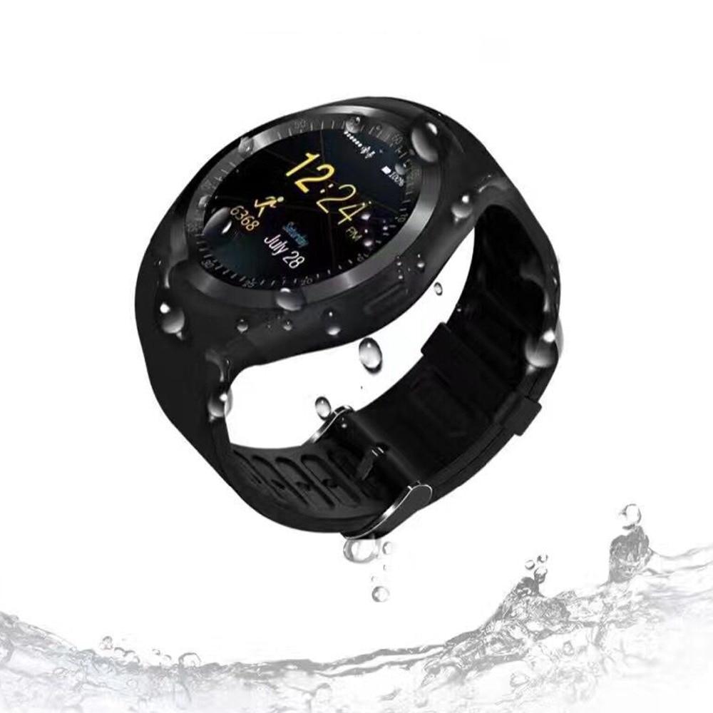 Cawono Y1 Smartwatch Bluetooth Smart Watch Reloj Relogio 2G GSM SIM App Sync Mp3 for Apple