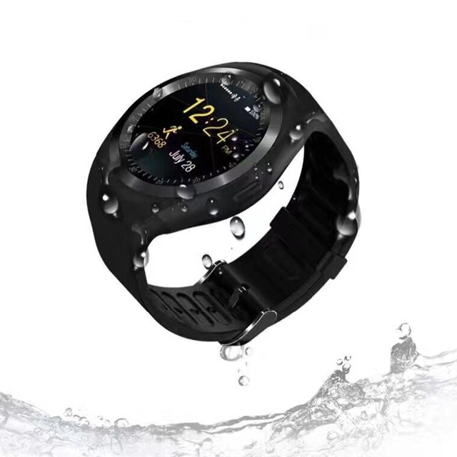 Cawono Y1 Smartwatch Bluetooth Smart Watch Reloj Relogio 2G GSM SIM App Sync Mp3 for Apple iPhone Xiaomi Android Phones PK DZ09