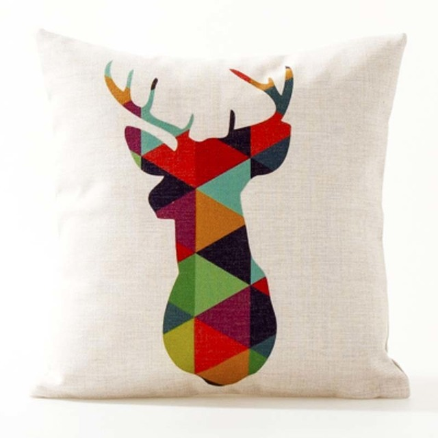 Nordic Geometric Decorative Pillowcase Size: 45CM WT0042 Color: 8