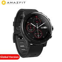 Xiao mi mi Hua mi Amazfit 2 Amazfit Stratos 2 inteligentny zegarek inteligentny zegarek mężczyźni z GPS Xiao mi zegarki monitor tętna ppg 5ATM