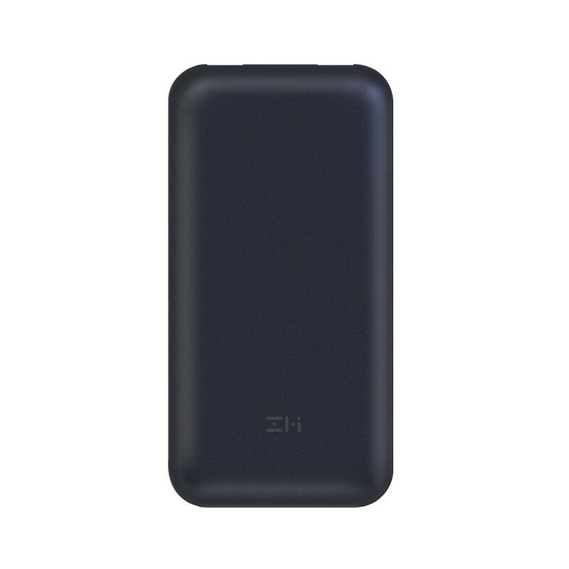 Xiaomi ZMI 15000 mAh batterie externe QB815 USB PD 2.0 & Charge rapide 3.0 15000 mAh Powerbank avec câble type-c pour ordinateur portable Macbook