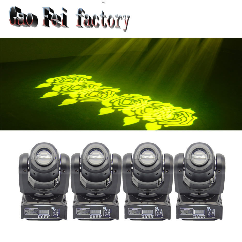 4 Pcs/lot led moving head lights china moving beam dj lights dmx rgbw 30w moving heads zoom light fixtures