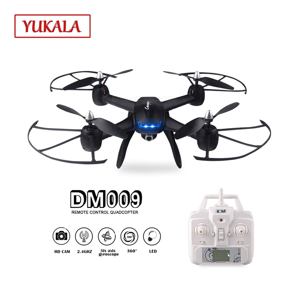 DM009 FPV real-time RC Drone high-definition camera 6 axis 3D flip one button return mode LED light suitable for night flight стоимость