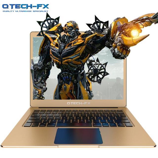 "Metal Laptop SSD 512GB 256GB 64GB RAM 6GB 13.3"" FHD Fast CPU Intel Apollo Windows Arabic French Spanish Russian Keyboard Backlit"