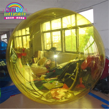 Hot water game toys in summer good quality inflatable water zorbing ball