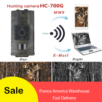 Skatolly HC700G Newest Suntek Hunting camera 16MP 3G GPRS SMS 1080P PK HC300m Trail Camera Night Vision 940nm Photo traps camera