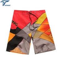 Новое поступление, мужские шорты, шорты для серфинга, летние спортивные шорты для пляжа, мужские шорты бермуды, быстросохнущие Серебристые ...
