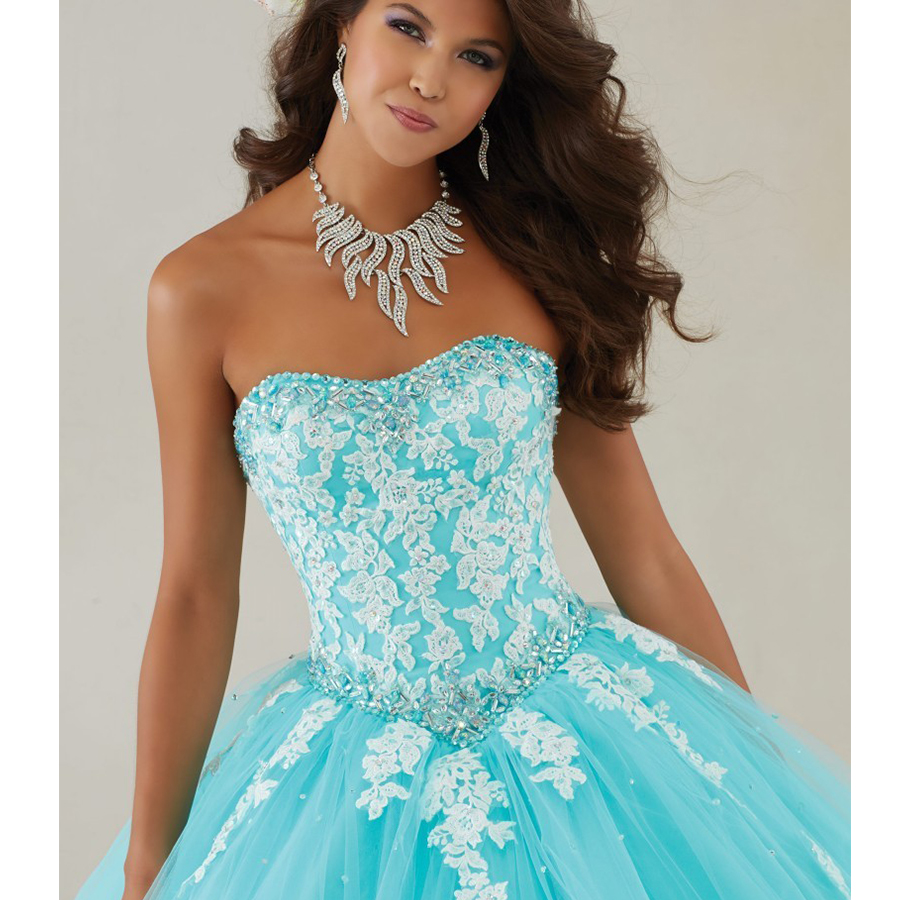 Cheap Masquerade Ball Gowns Plus Size Vestidos De 15 Anos Debutante ...