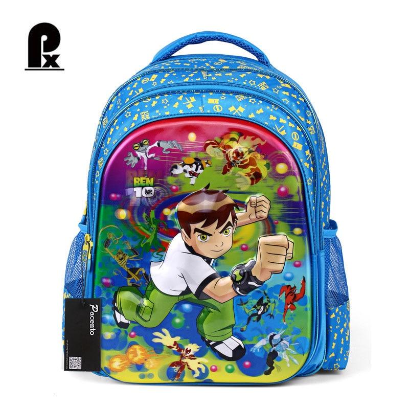 Детские рюкзаки бен 10 крепкий школьный рюкзак