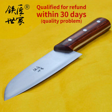 handmade kitchen chef slicing knife stainless steel chinese cleaver vegetable fruit bread meat knives нож кухонный