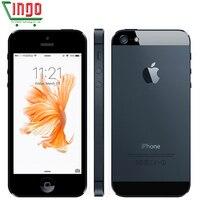 Original Apple IPhone 5 Unlocked Cell Phone 16 32 64GB Dual Core 1GHz 3G WIFI GPS