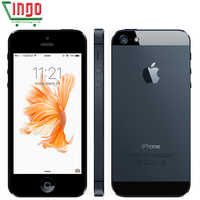 """Original Apple iPhone 5 teléfono celular desbloqueado 16 y 32 y 64GB Dual-Core 1GHz 3G WIFI GPS 8MP 1080P 4,0 """"IPS envío gratis"""