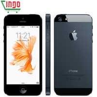 Teléfono móvil Original Apple iPhone 5 desbloqueado 16 y 32 y 64GB de doble núcleo 1GHz 3G WIFI GPS 8MP 1080P 4,0 IPS envío gratis