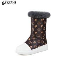 QZYERAI Winter super warm ladies comfortable snow boots fashionable womens shoes womens boots