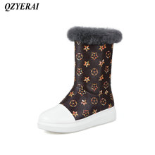 QZYERAI Winter super warm ladies comfortable snow boots fashionable womens shoes womens boots