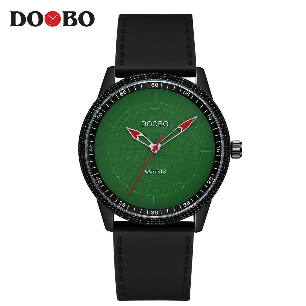 Модные повседневные мужские часы Топ бренд класса люкс Простой Бизнес Кварцевые часы мужские спортивные наручные часы Relogio masculino DOOBO часы