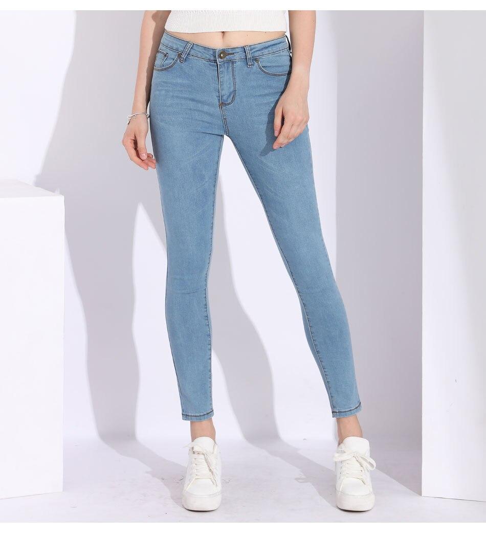 5ce984884de GAREMAY Mom Light Blue Jeans Women s Plus Size Women s Jean Women Denim  Pants Plus Size Ladies Skinny Jeans Woman Jean Female