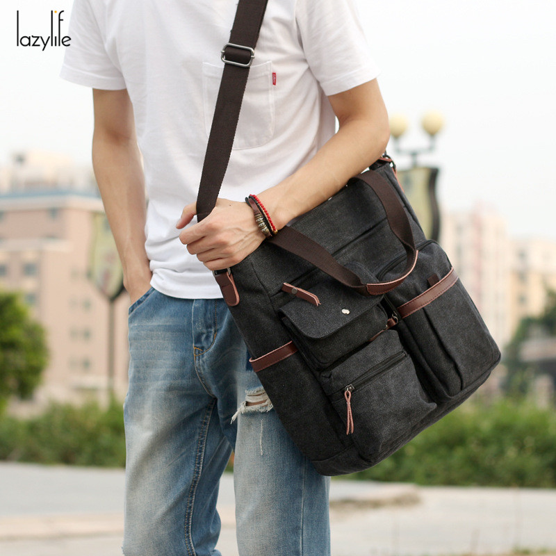 Us 26 25 50 Off Lazylife High Quality Capacity Men Briefcase Man Bags Business Laptop Tote Bag S Crossbody Shoulder Travel In