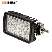 Universal LED Work Lamp Rectangle Flood Side Mount Work Lights For New Holland 8670, 8770, 8870, 8970, 8670A, 8770A