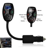 LCD Display Bluetooth Wireless Car MP3 FM Transmitter For IPhone IPod Android MP3 Players And Other