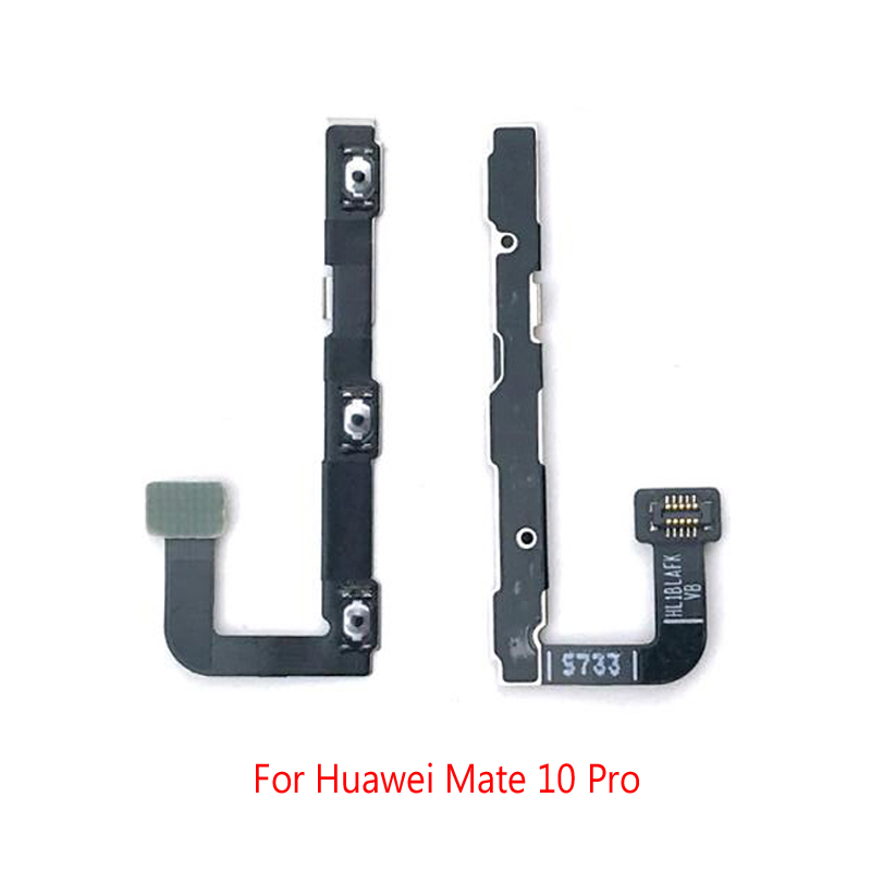 Original New Power Volume Flex Cable For Huawei Mate 10 Pro Side Key Button Flex Cable Repair Parts