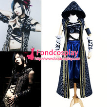 Free Shipping Venitas-nega J-rock Outfit Jacket Coat Gothic Punk Cosplay Costume Tailor-made