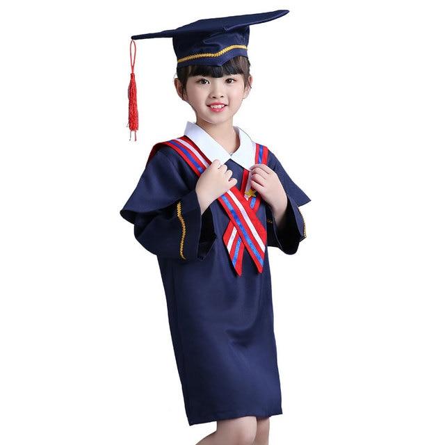 632553265 Girl Kindergarten graduado trajes Dr niños académico ropa Boy Kindergarten graduación  Ropa para Niñas doctoral