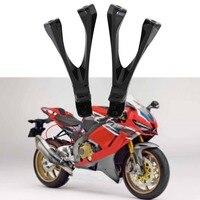 Motorcycle Rear passenger FootPeg Footrest Bracket For HONDA CBR1000RR CBR 1000 RR 2017 UP 2018 2019 Gloss Black