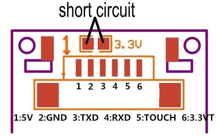 GROW R307 Finger Touch Function Optical fingerprint Module Sensor Reader