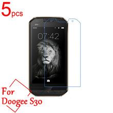 5pcs Ultra Clear/Matte/Nano Anti-Explosion LCD Screen Protector Film Cover for Doogee S60 S30 IP68 Protective Film + Cloth(China)
