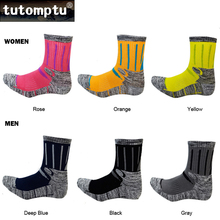 Tutomptu 1 Pairs Professional Ski Socks Sport Socks Climbing Walking Hiking Running Socks Thermal Sock For Men Women