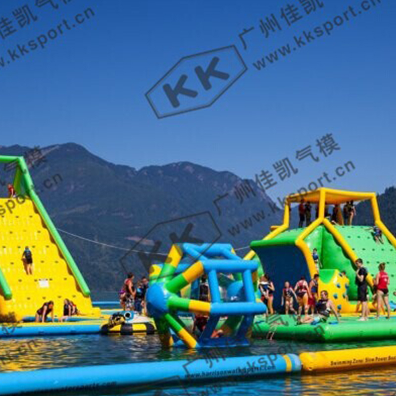 Open Water Floating Trampoline Large Inflatable Water Toys