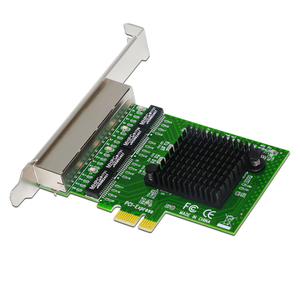 Image 2 - רשת כרטיס 4 יציאת Gigabit Ethernet 10/100/1000 M PCI E PCI Express כדי 4x Gigabit Ethernet רשת כרטיס LAN מתאם עבור מחשבים שולחניים