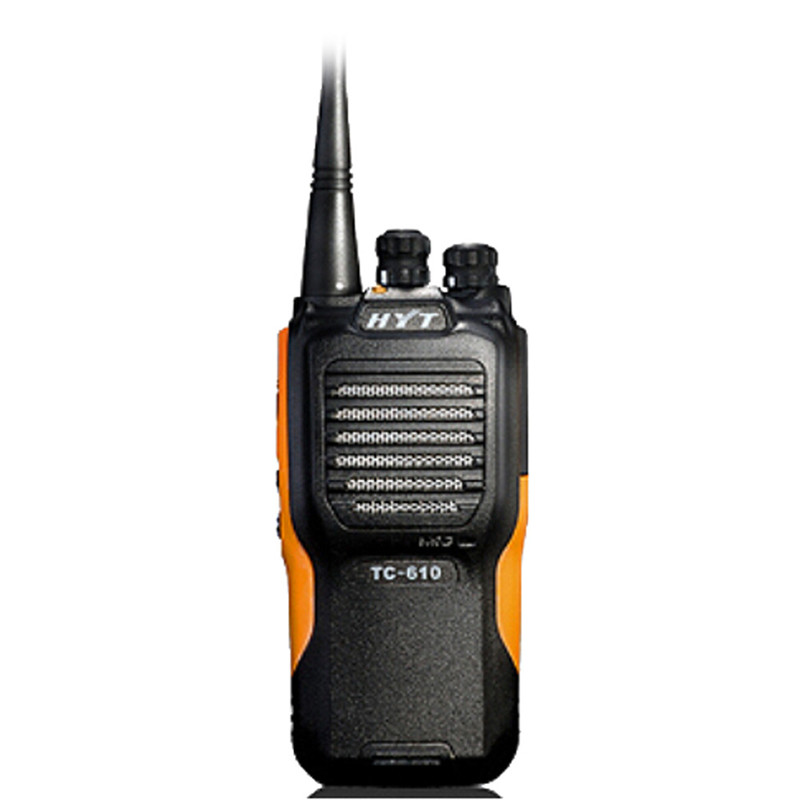 Cellphones & Telecommunications Hyt Tc-610 Hand-held Analogue Radio 16channel Professional Walkie Talkie Ip66 Dust/water Protection Two Way Radio