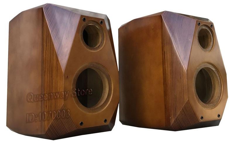 6.5/8 polegada speaker cabinet em dois sentidos real madeira chassis/caixa/gabinete bookshelf speaker clássico DIY