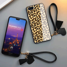 цена на Luxury Leopard With lanyard Phone Case for iPhone XS Max 7 8 6S Plus Cute beautiful Zebra Cover For Xiaomi Mi 6X 5X MIX 2 2S 3