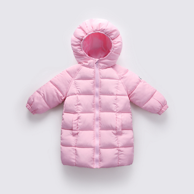 Big Promo Baby Boys Jacket 2018 Autumn Winter Jacket Coat Kids Warm Thick Hooded Children Outerwear Coat Toddler Girl Boy Clothing