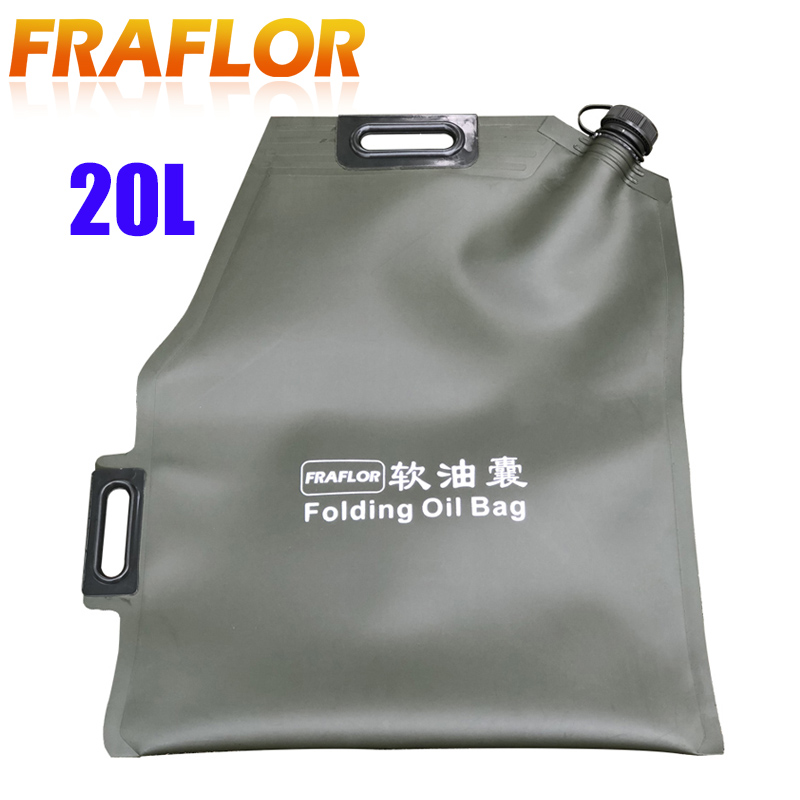 20L Litre Spare Fuel Tank For Ourdoor Vehicles Car ATV SUV Petrol Can Emergency Use Oil