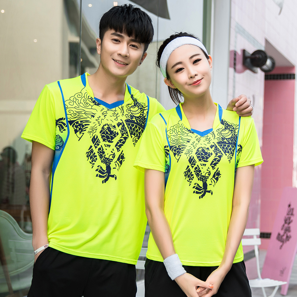 New Quick dry Tennis shirt Male/Female ,Badminton sports shirt, ennis T-shirts, Badminton Table Tennis Jerseys A116