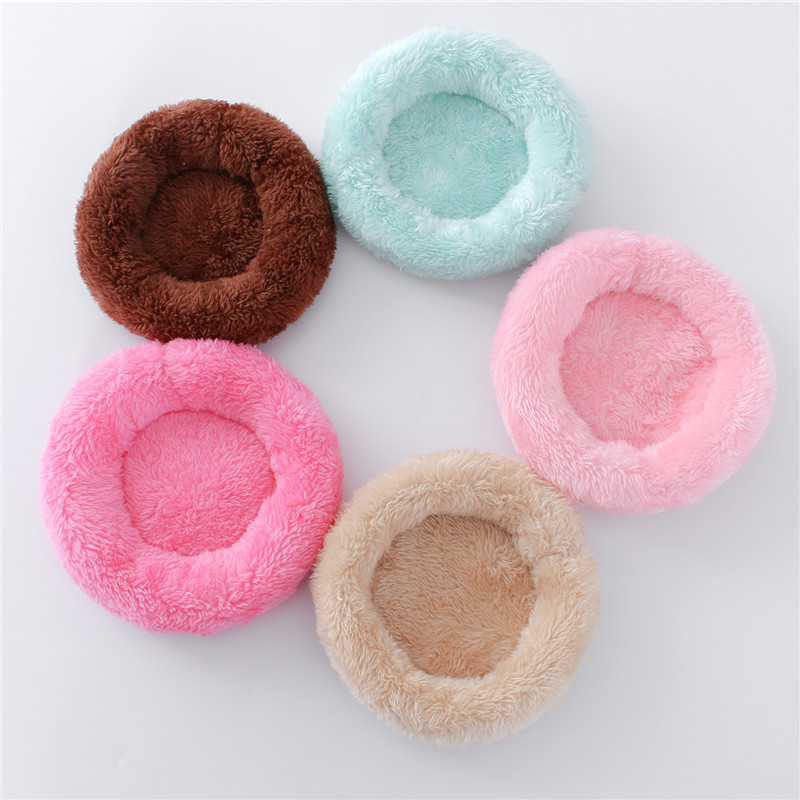 Hamster Nest Pad Velvet Warm Pet Nest Arctic Cotton Cushion Hamster Hedgehog Chinchilla Rabbit Pet Bed 5 Colors S/L Pet Supplies