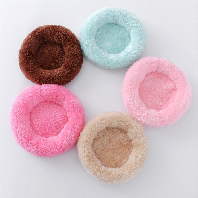 Hamster Nest Pad Velvet Warm Pet Nest Arctic Cotton Cushion Hamster Hedgehog Chinchilla Rabbit Pet Bed 5 Colors S/L Pet Supplies