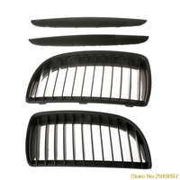 Intake grille Dumb black Front Kidney Grill Grilles For BMW E90 E91 Saloonping Support