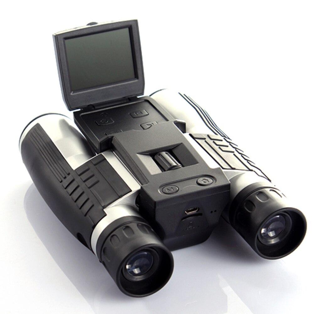 12x32 HD бинокль телескоп Цифровая камера 5 Мп цифровая камера 2,0 ''TFT дисплей Full HD 1080p телескоп камера